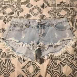 One by One Teaspoon Bonitas Shorts size 29